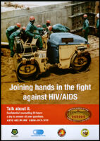 Joining hands in the fight against HIV/AIDS [inscribed]