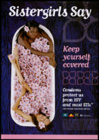 Sistergirls say, Keep yourself covered [inscribed]
