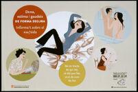Dona, estima i gaudeix de forma segura: Informa't sobre el vih/sida [inscribed]