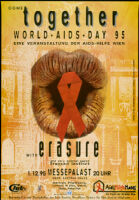 Come together. World AIDS Day 95.[inscribed]