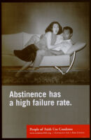 Abstinence has a high failure rate. [inscribed]