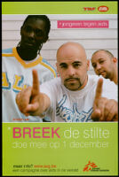 Breek de stilte [inscribed]