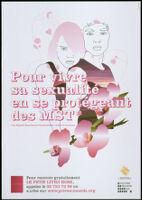 Pour vivre sa sexualité en se protégeant des MST* [inscribed]