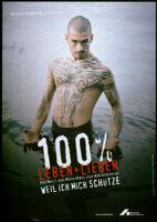 100% Leben + Lieben [inscribed]