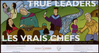 True leaders. HIV AIDS the healing begins with us. [inscribed]