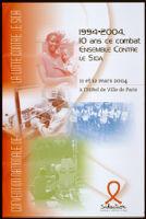 1994-2004, 10 ans de combat ensemble contre le Sida [inscribed]
