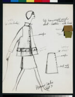 Cashin's ready-to-wear design illustrations for Sills and Co.