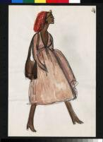 Cashin's essay and fashion design illustrations featuring black models.