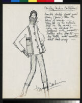 Cashin's ready-to-wear design illustrations for Russell Taylor.