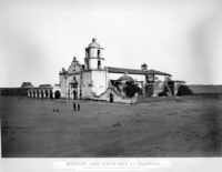 Mission, San Louis Rey de Francia.  No.1205.  WATKINS' New Series. [negative copy]