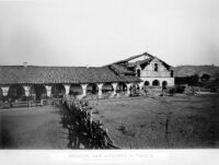 Mission, San Antonio de Padua. No. 1231. WATKINS' New Series. [negative copy]