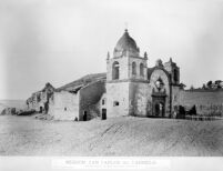 Mission, San Carlos Del Carmelo.  No. 1232. WATKINS' New Series. [negative copy]