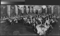 Dinner in Honor of Their Imperial Highnesses Prince and Princess Takamatsu, Hotel Plaza, New York, 1931