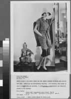 Black and white photographs of Cashin's ready-to-wear designs for Sills and Co., modeled in residential interiors including Cashin's New York apartment.