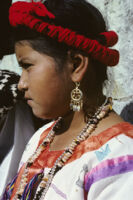 Guelaguetza[?], girl dancer close-up, 1982 or 1985