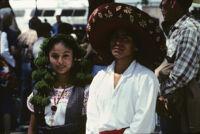Guelaguetza[?], dancers, 1982 or 1985