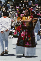 Tehuantepec, dancers [blurred], 1985