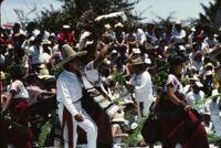 San Antonino Castillo, dancers and turkey, 1985