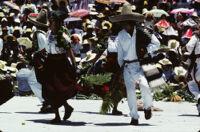San Antonino Castillo, dancers, 1985