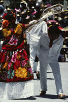Tehuantepec, dancers [blurred], 1985