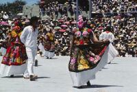 Tehuantepec, dancers, 1982 or 1985