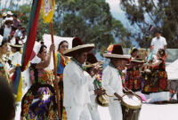 Juchitan, procession, 1982 or 1985