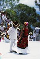 Juchitan, dancers, 1982 or 1985