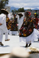 Juchitan, dancers, 1982 or 1985