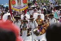 Juchitan, procession, 1982 or 1985