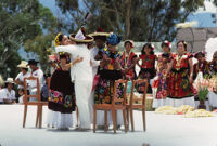 Juchitan, dancers and chairs, 1982 or 1985