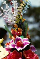Juchitan, flower arrangement, 1982 or 1985