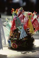 Juchitan, festive decorations, 1982 or 1985