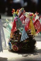 Juchitan, festive decorations, 1982 or 1985