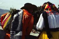 Ejutla de Crespo, back view of dancers close-up, 1982