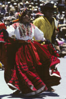 Ejutla de Crespo, dancing with skirts, 1985