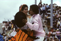 Ejutla de Crespo, couples dancing, 1982
