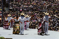 Pochutla, couples dancing, 1982 or 1985