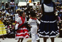 Pochutla, children dancing, 1982 or 1985
