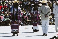 Huautla de Jimenez, dancers, 1985