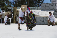 Tlaxiaco, couples dancing, 1982 or 1985