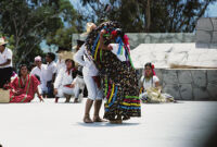 Tlaxiaco, dancing with skirts, 1982 or 1985