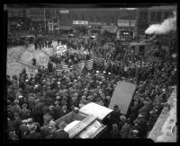 Groundbreaking ceremony for Los Angeles City Hall, Calif., 1926