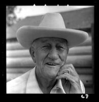 Thomas B. Talbert, former Supervisor for Orange County, Calif., portrait, 1959