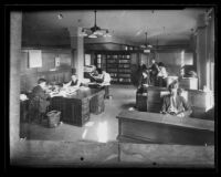 Los Angeles Times City Room, circa 1926