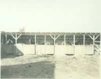 Horse stables at Universal City, Calif., 1915