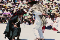 Mixistlán, couples dancing, 1985