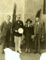Van M. Griffith, Roberto, Mabel Socha  & True, group portrait