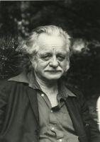 Kenneth Rexroth, portrait circa 1980