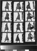 Contact sheets of Cashin's ready-to-wear designs for Sills and Co.
