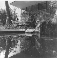 Adolph Brown House, exterior garden [photograph]